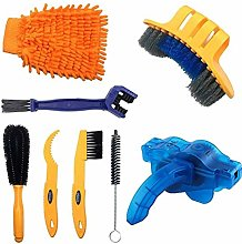 Halsey99 8pcs Bicycle Cleaning Tools Set Bike