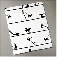 HAM - Playground Rabbit Tea Towel