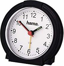 Hama Alarm Clock, Black/White, One size