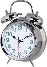 Hama Alarm Clock, Silver, 17 x 12.5 x 6.7cm