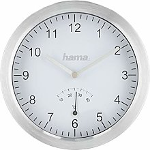 Hama Bathroom Clock with Suction Cups and
