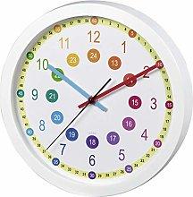 Hama Easy Learning AA Wall Clock, Multi-Colour,