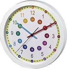 Hama Easy Learning Multicolor–Wall Clock