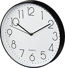 Hama Elegance Wall Clock, Black/White, 34 x 31 x 5