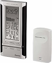 Hama ews380 Electronic Weather Station Black/Silver
