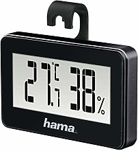 Hama Mini Electronic environment thermometer Black