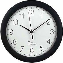 Hama PG-300 Circle Black Wall Clock (AA Mignon,