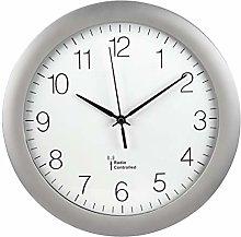 Hama PG-300 Circle Silver Wall Clock (AA Mignon,