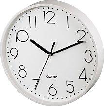 Hama PG220 Wall Clock Silent White [123166] by Hama