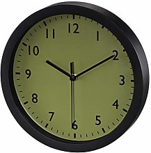 Hama Pure Mechanical Wall Clock Circle Black Olive