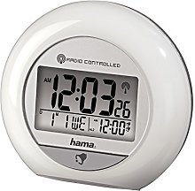 Hama Radio-Controlled Alarm Clock RC 600(with