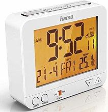 Hama Radio-Controlled Alarm Clock