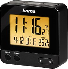 Hama RC 540 Radio Controlled Alarm Clock, with