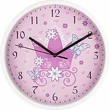 Hama Wall Clock, Pink, One size