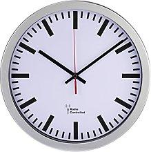 Hama Wall Clock, Silver, 30x30x3.5 cm