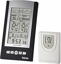 Hama Weather Stations, Black, One size