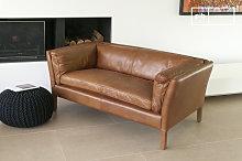 Hamar Vintage Leather Sofa