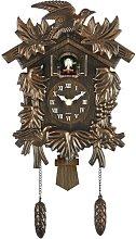 Hamburg Antique Bronze Wall Clock Acctim