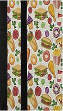 Hamburgers Roll Refrigerator Door Handle Covers 2