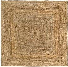 HAMID - Jute Alhambra Rug Natural Color - 100%