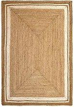 HAMID - Jute Carpet Alhambra Natural Color and