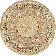 HAMID Jute rug Alhambra Nazarí Round natural