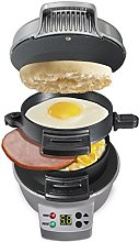Hamilton Beach 25478 – Sandwich Maker (Black,