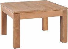 Hamish Solid Teak Wood Coffee Table Union Rustic