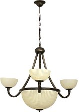 Hammersdale 6-Light Shaded Chandelier Ophelia &
