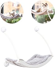 Hammock for hanging cat litter for cat suction cup