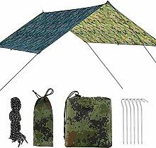 Hammock Rain Fly Tent Tarp 300x290cm Polyester