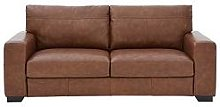 Hampshire 3 Seater Premium Leather Sofa