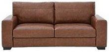 Hampshire 3 Seater Premium Leather Sofa