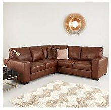 Hampshire Premium Leather Corner Group Sofa