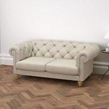 Hampstead 2 Seater Sofa Linen Union, Natural Linen