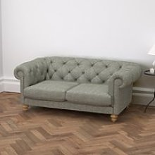 Hampstead 2 Seater Sofa Tweed, Tweed Mid Grey, One