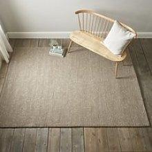 Hampton Looped Wool Rug, Biscuit, Double