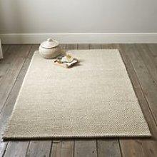 Hampton Looped Wool Rug, Ivory, Extra Large