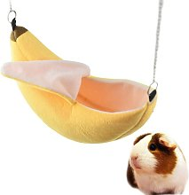 Hamster Hanging House Hammock Banana Design Small