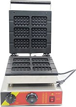 Hanchen Belgian Waffle Iron Machine Baker 6 Slice