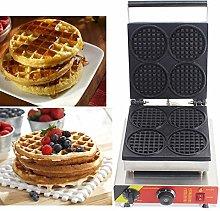 Hanchen Belgian Waffle Maker Baker 4pcs Round