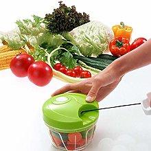 Hand Chopper Manual Food-Processor - Pull String