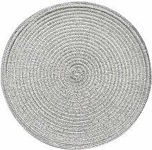 Hand Cotton Linen Weave Table Mat,Environmental