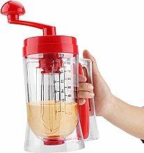 Hand-held Manual Pancake Cupcake Batter Mixer