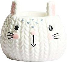 Hand Mixer Rabbit Ceramic Hand-Painted Egg Tray