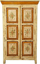 Hand Painted solid wood cabinet