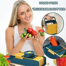 Hand Push Multifunctional Vegetable Cutter Fruit