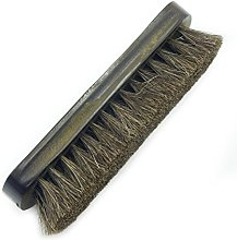 HAND® Solid Brown Wood Natural Horse Hair Brush