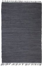 Hand Tufted Grey Rug by Bloomsbury Market - Grey