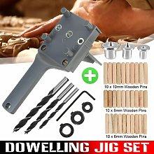Hand Woodworking Tool Stud Set Quick Doweling Jig